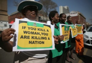 ANC protest