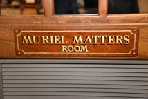 Muriel Matters room