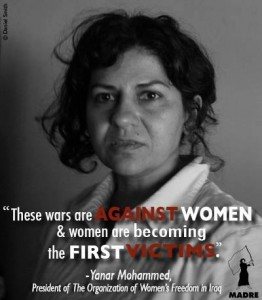 women as victims of war - Madre